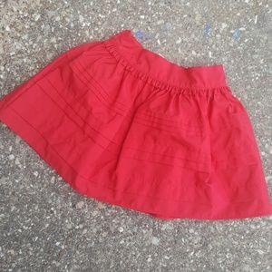 OshKosh B'Gosh Red Girls Layered Skirt 5